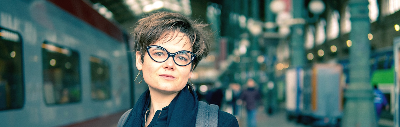 Lucie pinson, fondatrice de Reclaim Finance